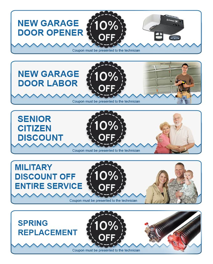 Coupons Alpharetta Garage Door Service Repair